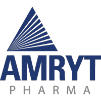 This image has an empty alt attribute; its file name is Amryt-Pharma_logo_200px.png